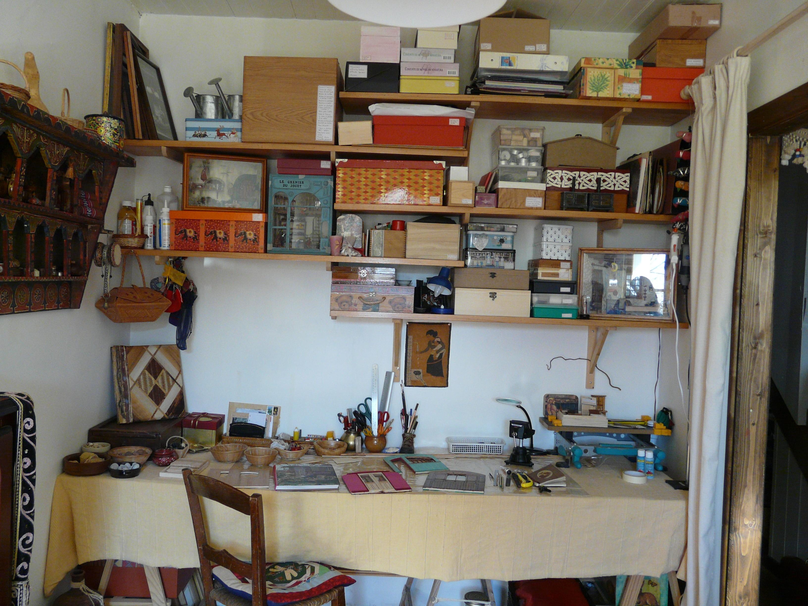 Ma pièce de bricolage de 2006 à 2008. Il s'agit de la pièce réelle, pas d'une miniature ! ...