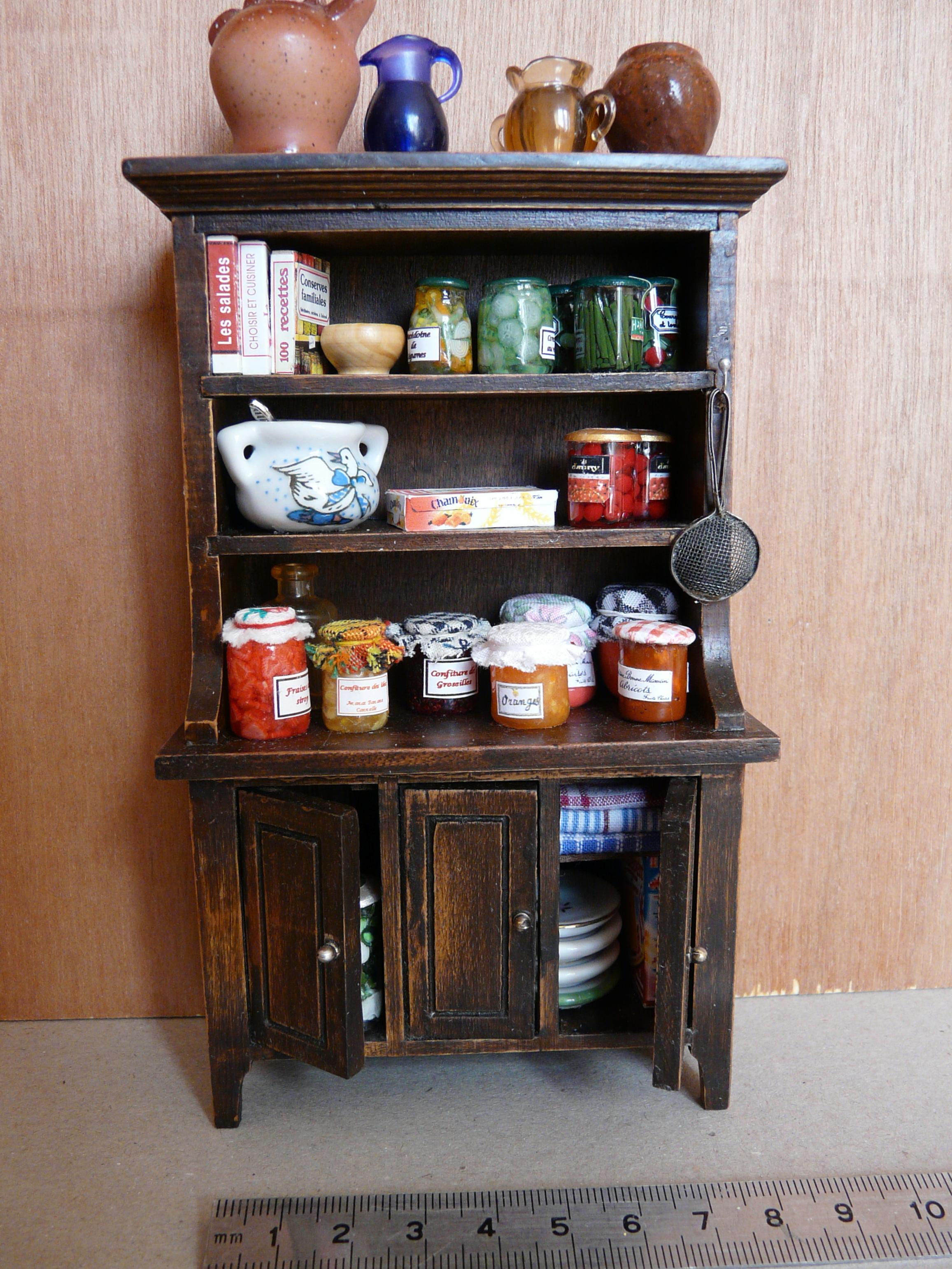 Le Vaisselier à cuisine rustique – les créations de nanetska